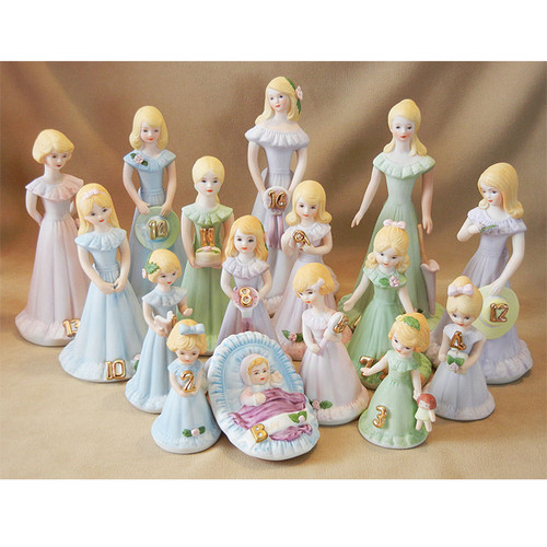 Growing Up Girls -- Blonde Age 9