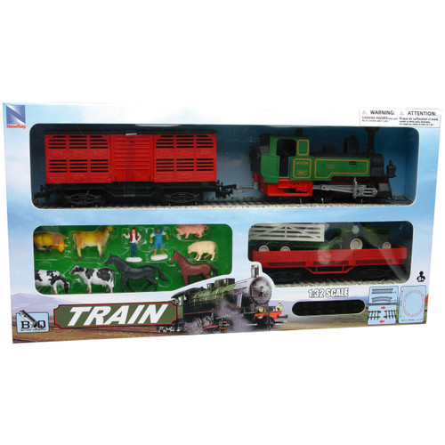 NewRay 1:32 scale Battery Operated Farm Train Set
