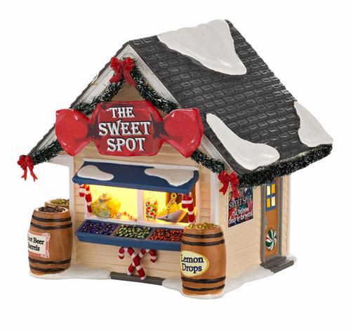 Department 56- Original Snow Village- The Sweet Spot Lit House