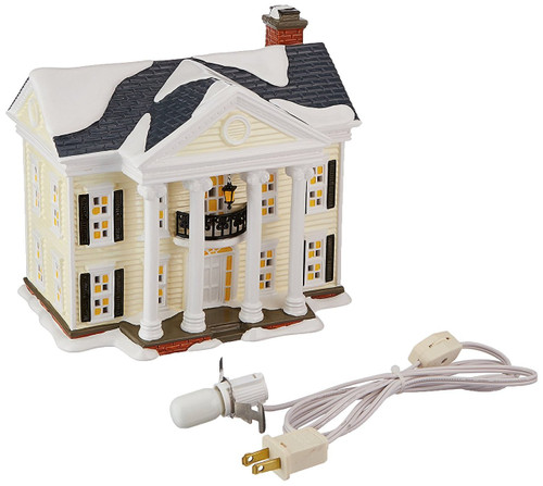 "Department 56 National Lampoon's Christmas Vacation ""Boss Shirley's House"" Lighted Building"