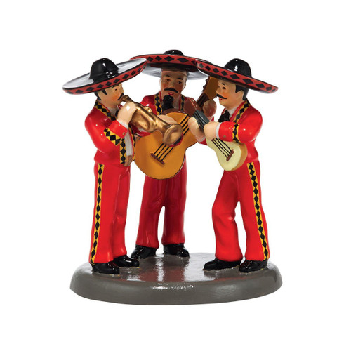 Department 56 - Original Snow Village Accessory - El Mariachi Loco