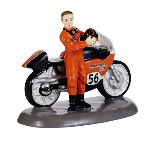 Department 56 - Original Snow Village - Harley-Davidson® Race Ready