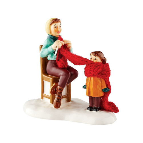 Department 56 - Snow Village - Mother's Little Helper