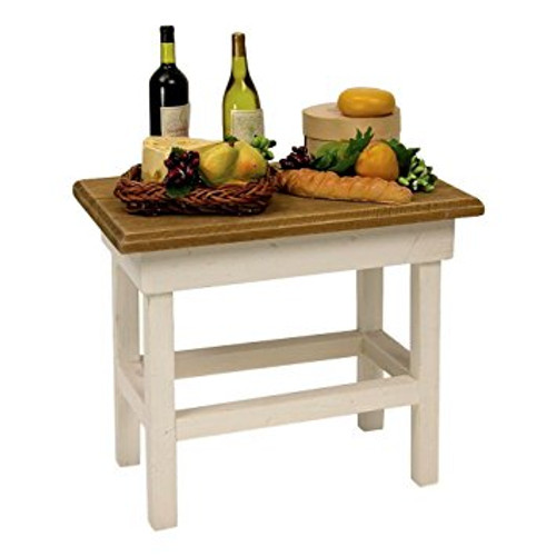 Byers Choice - Wine and Cheese Table