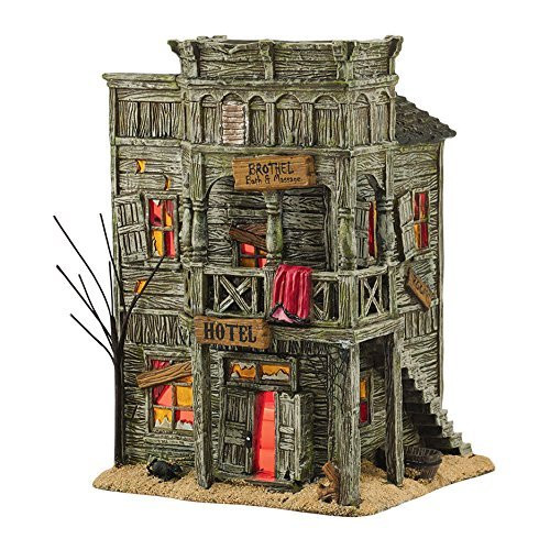 Department 56 - Halloween Village - Last Chance Hotel