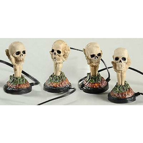 Department 56 - Halloween Village - Boneyard Luminaries