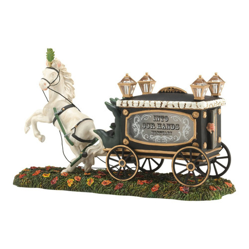 Department 56 - Halloween Village - Haunted Hearse