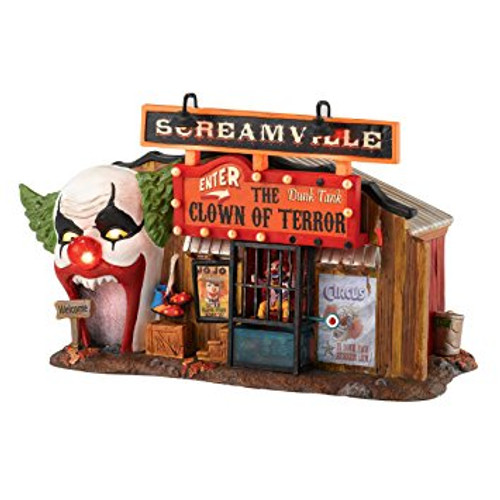 Department 56 - Halloween Village - The Clown House of Terror