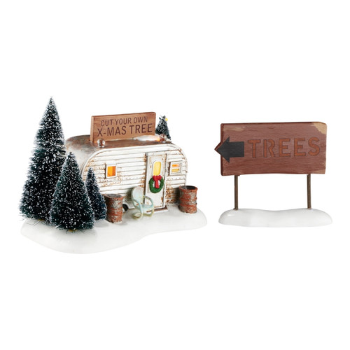 Department 56 - National Lampoon's Christmas Vacation Village - Griswold Family Buys a Tree