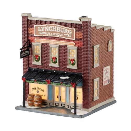 Department 56- Jack Daniels Village -  Lynchburg Hardware & General Store