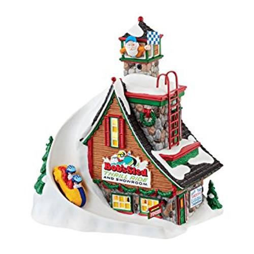 Department 56 - North Pole Series - Bob's Sled Thrill Ride