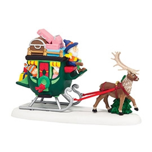 Department 56 - North Pole Series - North Pole Sleigh Ride