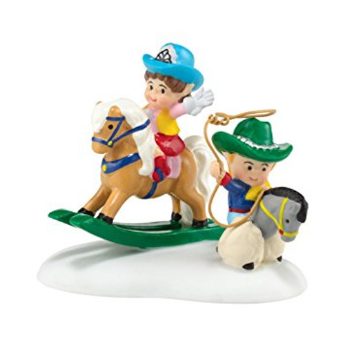 Department 56 - North Pole Series - Cowboy Kids
