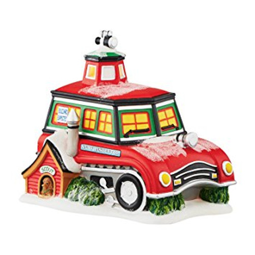 Department 56 - North Pole Series - Snow Inspector Station