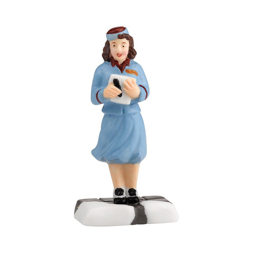 Department 56 Christmas in The City Village First Class Flight Accessory, 2.375-Inch
