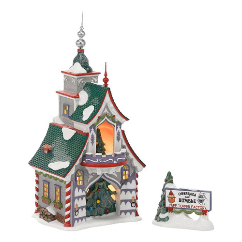 Department 56 - North Pole Series - Rudolph's S & G Tree Toppers