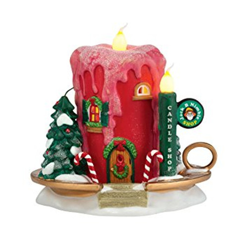 Department 56 - North Pole Series - Jack B. Nimbles Candle Shop