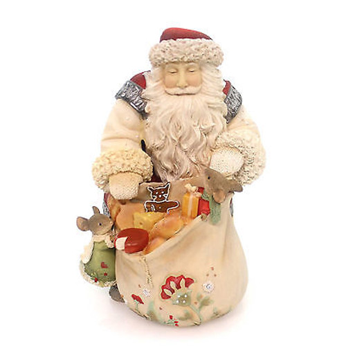 Heart of Christmas - Santa with Mice Gifts