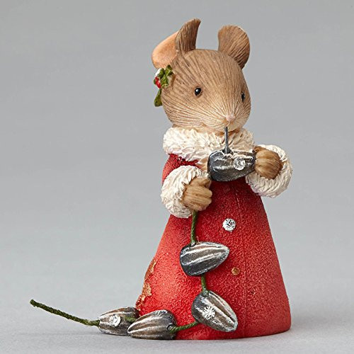 Heart of Christmas Mouse with Seeds Garland