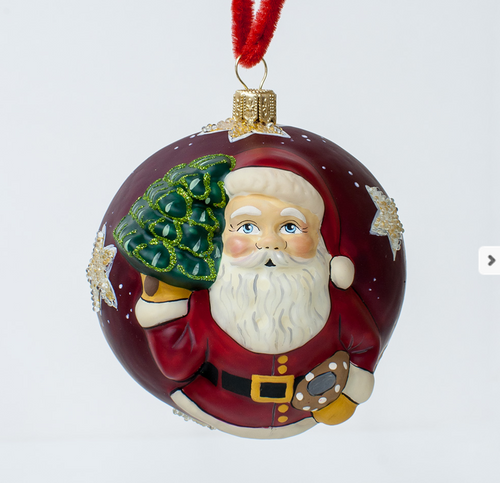 "Vialliancourt ""Jingle Ball"" Red American Starlight Santa"