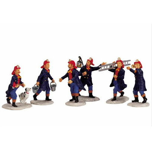 Lemax - Firemen Set of 6