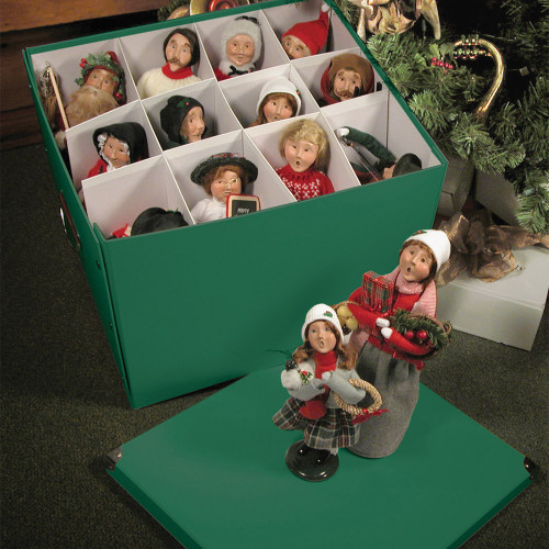 Byers Choice Caroler Condo Storage Box