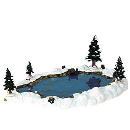 Lemax- Mill Pond Set of 6