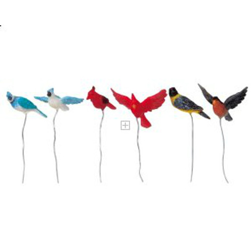 Lemax- Assorted Birds Set of 6