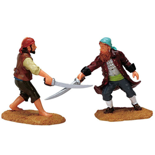 Lemax - Swashbucklers Set of 2
