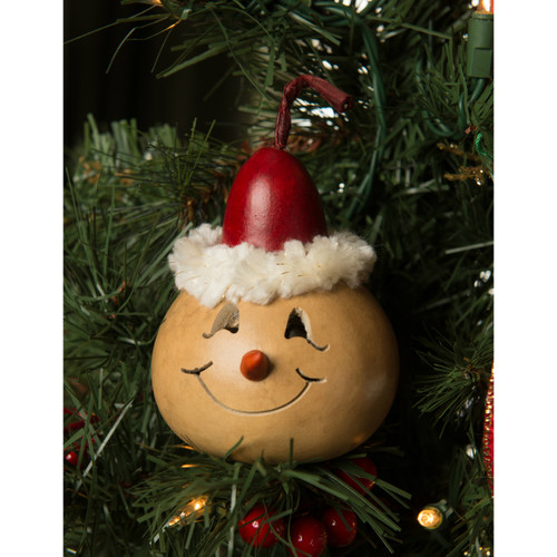 Meadowbrooke Gourds- Red Bernard Ornament