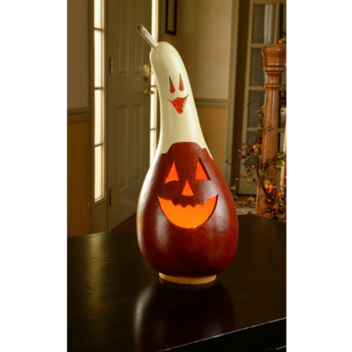 Meadowbrooke Gourds- Small Casper Jack Lit