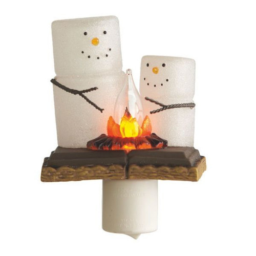 S'mores Campfire Night Lights