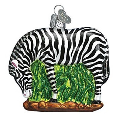 Old World Christmas -Zebra Ornament