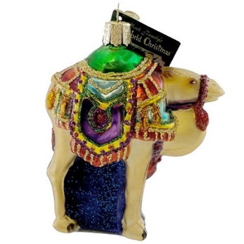 Old World Christmas -Magis' Camel  Ornament