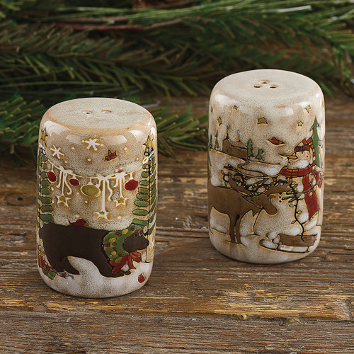Wonderland Christmas Salt & Pepper Shaker