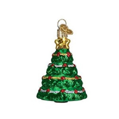 Old World Glass - Mini Christmas Tree Ornament