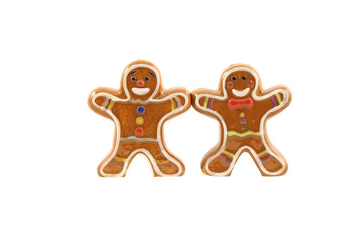 Westland Gingerbread Cookies Salt and Pepper Magnetic Shaker