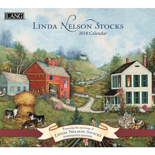 LINDA NELSON STOCKS 2018 WALL CALENDAR