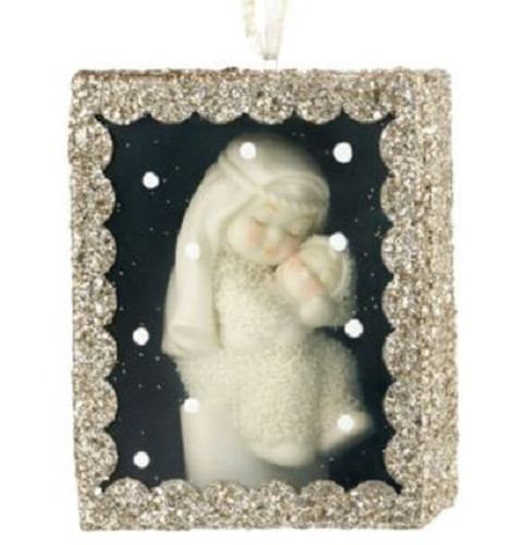 Snowbabies - Shadow Box Mary's Baby Ornament