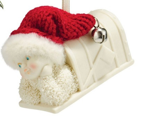 Snowbabies - Holiday Mail Ornament