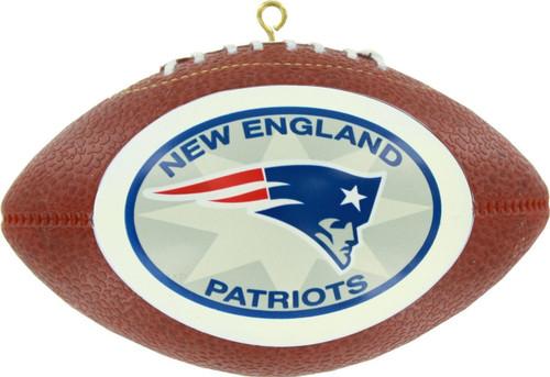New England Patriots Replica Football Ornament