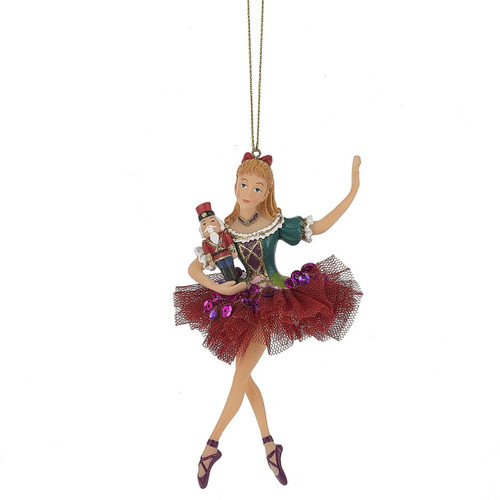 Clara Dancing Ornament