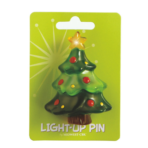 Tree Light Up Pin