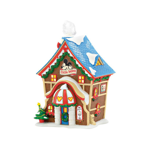 *2017* Department 56 - Mickey's Village - Mickey's Cocoa Shoppe