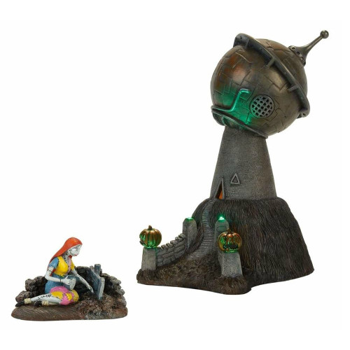 *2017* Department 56 - Nightmare Before Christmas Village - Dr. Finkelstein's Observatory Set of 2