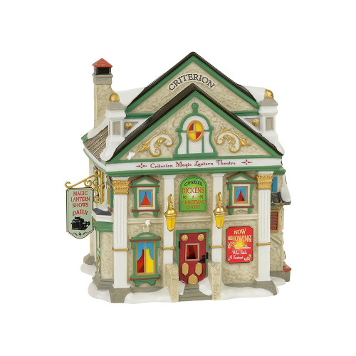 *2017* Department 56 - Dickens Village - Criterion Magic Lantern Theatre