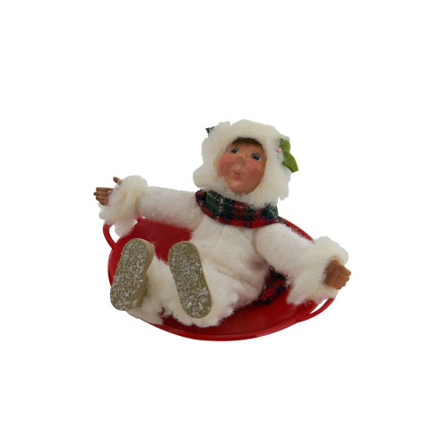 Byers Choice - Toddler  on Saucer