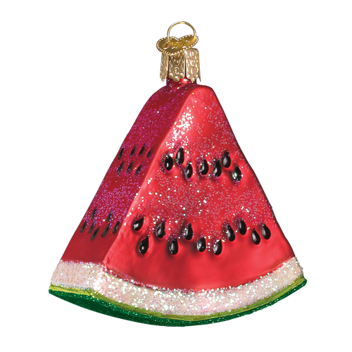 Old World Glass - Watermelon Wedge Ornament