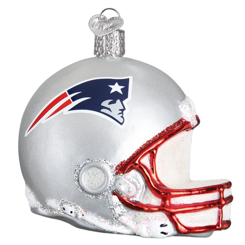 Old World Glass - New England Patriots Helmet Ornament
