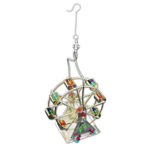 Pilgrim Imports - Handcrafted, Fair Trade,  Metal Ferris Wheel Ornament